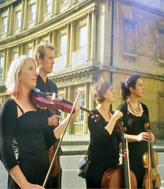 The Bristol String Quartet - Playing for Weddings and Corporate Events in Bristol, Bath, Gloucestershire, Somerset, Wiltshire and across the UK