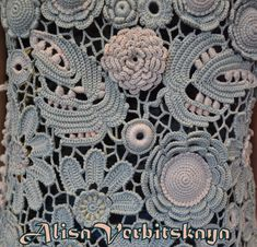 Vest, thick yarn, Irish crochet, lace, beach, summer clothing, swimsuits, cotton