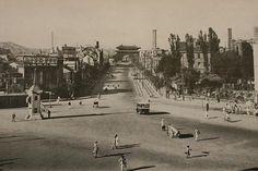Namdaemun - 1933 삶의 여로 속에서 : 조선시대 사진 - 숭례문