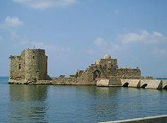 Forteresse de Sidon ou de la Mer, Liban