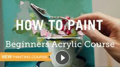 how to paint with acrylics online