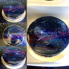 the galaxy cakes sell well and i really like how this one. Black Bedroom Furniture Sets. Home Design Ideas