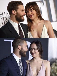 Something never change  #DakotaJohnson #JamieDornan Fifty Shades of Grey UK London Premiere 2015/Fifty Shades Darker LA Premiere 2017