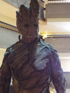 Awesome Groot cosplay at Dragon Con 2014!