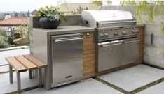 More modern BBQ look
