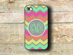 Iphone case iPhone 4 case Personalized by ToGildTheLily on Etsy Cool Iphone Cases, Ipod Cases, Cute Phone Cases, Pink Iphone, Iphone 5s, Phone Accesories, Rainbow Chevron, Random, Birthday