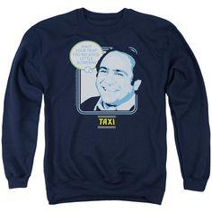 Taxi Shut Your Trap Navy Crewneck Sweatshirt