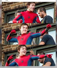 Tom Holland this must be the upcoming movie spiderman: homecoming
