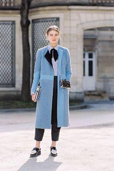 Paris Fashion Week AW 2015....Claire