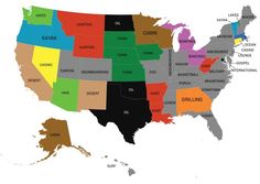 This Map Shows the Most Distinctive Word in Online Dating in Your State | Complex