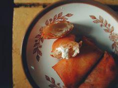 Dessert Spring Rolls Ways) Spring Rolls, Fudge, Faith, Tableware, Desserts, Blog, Tailgate Desserts, Dinnerware, Deserts