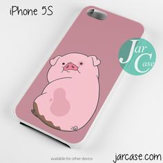 Gravity Falls Waddles Pink Pig Phone case for iPhone 4/4s/5/5c/5s/6/6 plus