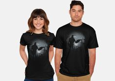 A Friendly Visit T-Shirt - Iron Giant T-Shirt is $12 today at TeeFury!
