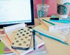 A productive Starbucks trip!