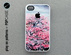 iphone 4 Case - iphone 4s case - plastic or silicone rubber - floral design. $14.95, via Etsy.