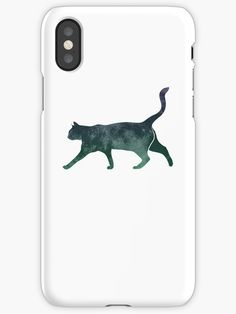 """""""Space Kitten - Cool Space Cat with Moon Texture"""" iPhone Cases & Covers by Chris  Kelly   Redbubble"""