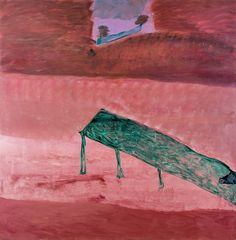idris murphy-Pink Dam Waters Floating Trees | King Street Gallery