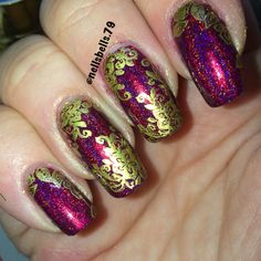 Cupcake polish mdu gold