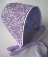 Simple Baby Bonnet Pattern - Newborn-12M