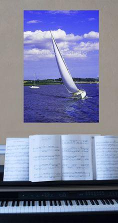 #Maritime Print for your Interior!  http://www.photofocusstudio.com/product/white-sails-yacht-canvas-wrap/