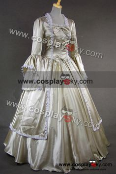 Marie Antoinette Victorian Dress Evening Gown-1