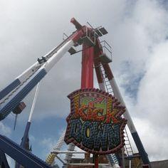 The Fairground in Darlington Town Centre