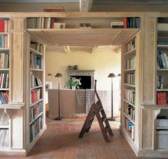 I want a library, but a hall-library would work.