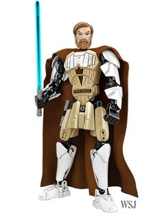 Here's Your First Look at Lego Star Wars Buildable Figures of Obi-Wan Kenobi and General Grievous - Speakeasy - WSJ