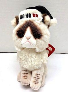 5735c4d667a GUND GRUMPY CAT Ho Ho Ho MINI 5