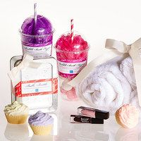Pamper someone special in your life with this collection of hand-picked gifts that bring the spa experience into her own bathroom. Ranging from sweet scented soaps with cheerfully cheeky designs, luxurious lotions, magnificent makeup kits and so much more, you are sure to find something that will make a style savvy sweetheart smile. So stock up on these perfectly priced presents.