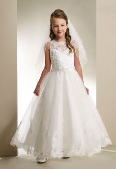 b88053e05852d 105 Best Communion dresses images in 2019 | Party dresses for girls ...