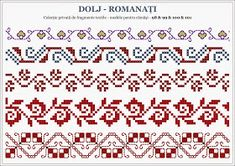 Embroidery Sampler, Folk Embroidery, Cross Stitch Embroidery, Embroidery Patterns, Cross Stitch Borders, Cross Stitching, Cross Stitch Patterns, Knitting Charts, Knitting Patterns