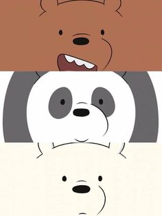 Wallpapers Geek, We Bare Bears Wallpapers, Panda Wallpapers, Pretty Wallpapers, Cartoon Wallpaper, Cute Panda Wallpaper, Bear Wallpaper, Iphone Wallpaper, We Bear