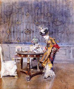 Giovanni Boldini, La lettera. Collezione privata