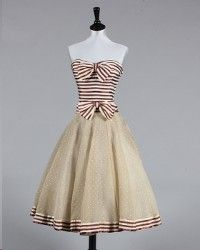 Vintage Chanel couture cocktail dress auctions for $26,000