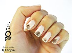 Hedgehog Water Transfer Nail Sticker by JsUtopia on Etsy, $5.00