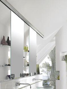 Stainless Steel Doors Roof Lines Grey Bathrooms Extra Storage Ideas Mirrors Condo Vanity Hardware