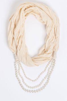 Scarves & Shawls - Fashion Accessories - Pearl Snood - EziBuy New Zealand
