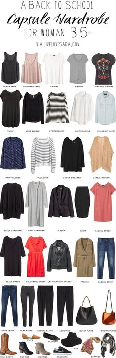 livelovesara - My life in a blog by Sara Watson. Capsule Wardrobe-Fall 2016