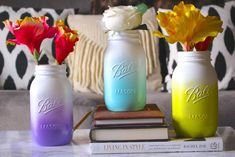 Mason jars and Vases for any theme at affordable prices. Cheap vases and mason jars with excellent quality. Mason jars, rustic decor, Bling decor, and more! Mason Jar Diy, Mason Jar Crafts, Bath Bomb Ingredients, Chalk Paint Mason Jars, Mason Jar Projects, Mason Jar Flowers, Diy Flowers, Jar Art, Diy Ombre