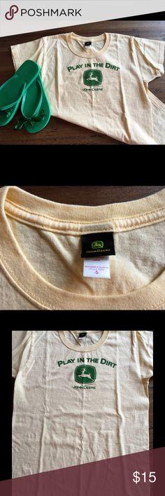 John Deere Tshirt NWOT This shirt says it all!  Love me some JD! (Tshirt only) never worn. John Deere Tops Tees - Short Sleeve
