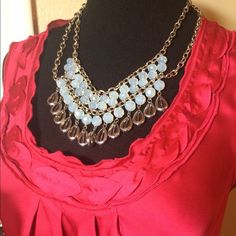 🔹5 for $25🔹Gorgeous multi-strand necklace Stunning!  🚫trades/PP. Jewelry Necklaces