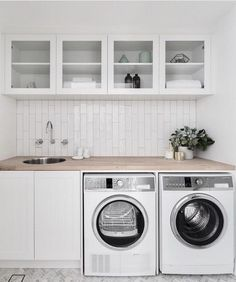 """See our internet site for more relevant information on """"laundry room storage diy"""". It is actually a great spot to find out more. Laundry Room Layouts, Laundry Room Remodel, Small Laundry Rooms, Laundry Room Organization, Laundry Room Inspiration, Farmhouse Laundry Room, Laundry Room Design, Küchen Design, Decoration"""