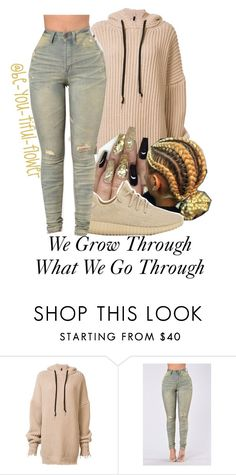 """//Grow Through//"" by be-you-tiful-flower ❤ liked on Polyvore featuring Unravel and adidas"