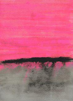 Sunset Horizon Art Print