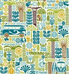 print  pattern | Ipanema by Dennis Bennett