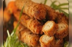 Meat Sticks. Recipes with photos.
