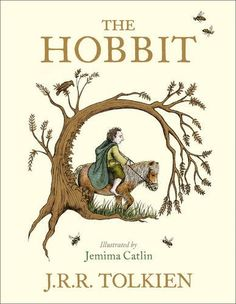 The Hobbit by J. Tolkien is a timeless classic. The unforgettable story of Bilbo, a peace-loving hobbit who embarks on a strange and magical adventure,. Hobbit Bilbo, Bilbo Baggins, Gandalf, Lotr, The Hobbit Book Cover, Jrr Tolkien, Tolkien Tattoo, Tolkien Books, Thrillers