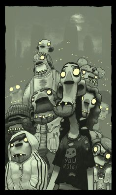 Zombies  by ~thurZ