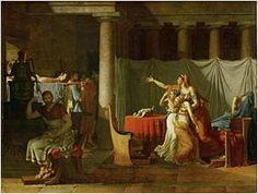 ArtistaJacques-Louis David; Ano1789; Tipoóleo sobre tela; Dimensões323 centímetros × 422 ;centímetros (127 × 166 em in); Localização:Trapeira.
